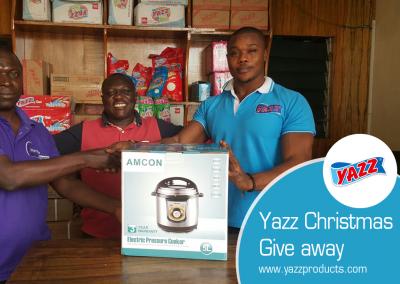 Yazz  Christmas Giveaway
